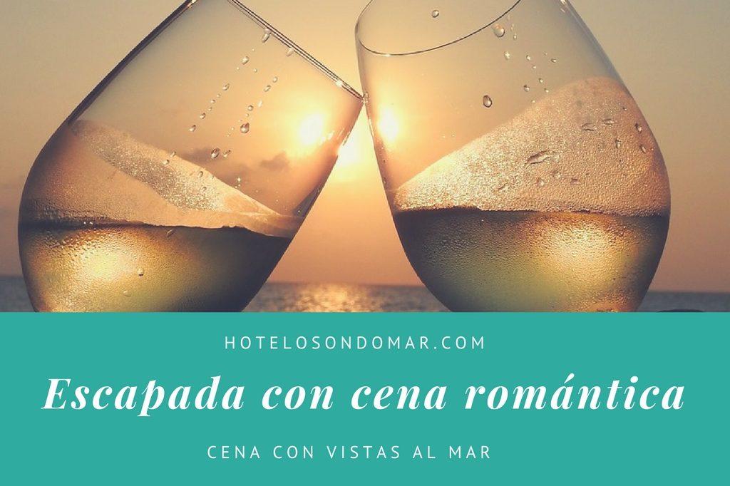 escapa romántica con cena